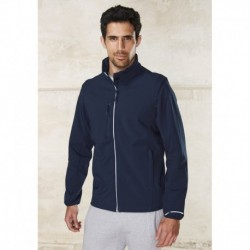 VESTE SOFTSHELL SPORT MANCHES AMOVIBLES UNISEXE