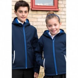 JUNIOR TX PERFORMANCE SOFTSHELL  JACKET SOFTSHELL CAPUCHE ENFANT