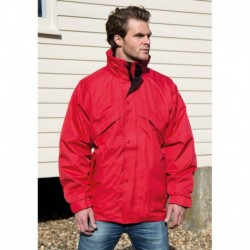 3 IN 1 WATERPROOF JACKET - VESTE 3 EN 1 IMPERMÉABLE DOUBLÉE EN POLAIRE ZIP&CLIP