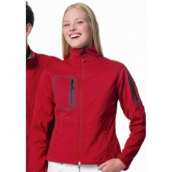 WOMEN ACTIVE SOFTSHELL VESTE SOFTSHELL FEMME