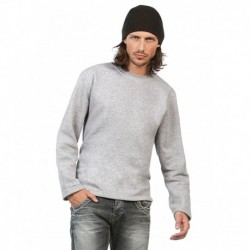 OPEN HEM SWEAT-SHIRT COUPE DROITE