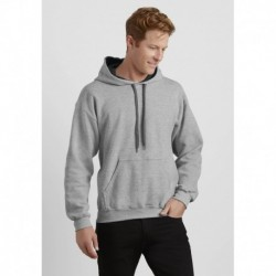 HEAVY BLEND ADULT CONTRASTED HOODED SWEATSHIRT  SWEAT CAPUCHE CONSTRASTÉE