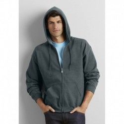 HEAVY BLEND FULL ZIP HOODED SWEAT-SHIRT ZIPPÉ CAPUCHE HOMME