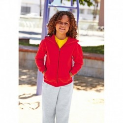 KIDS HOODED SWEAT JACKET (62-045-0) SWEAT-SHIRT CAPUCHE ZIPPÉ ENFANT