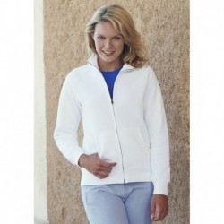 LADY SWEAT JACKET (62-116-0) VESTE MOLLETON FEMME ZIPPÉE