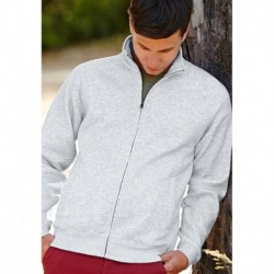 SWEAT JACKET (62-230-0) VESTE MOLLETON HOMME ZIPPÉE