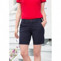 Ladies' Stretch Chino Shorts Short Chino Stretch Femme