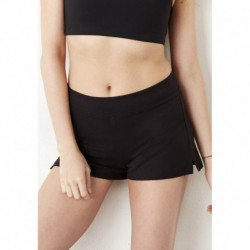 FITNESS SHORT COTON/ELASTHANNE