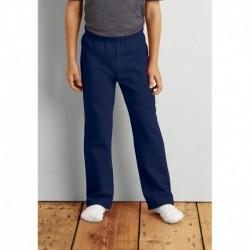 KIDS OPEN BOTTOM SWEATPANTS PANTALON DE JOGGING ENFANT BAS DROIT