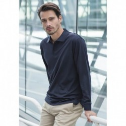 Men's Long Sleeved Cool Plus® Polo Polo Homme Cool Plus® Manches longues
