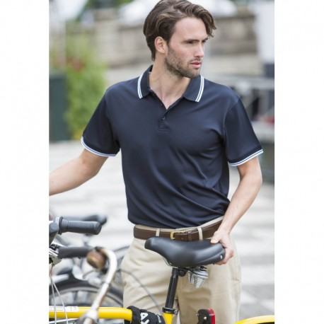 Tipped Homme Polo Avec Plus® Cool Men's Liseré clF1J3TK