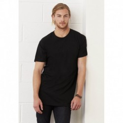 Men's Long Body Urban Tee T-shirt homme coupe longue