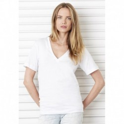 V-NECK TEE  T-SHIRT COL V