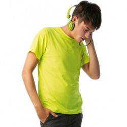 MEN ONLY PC  T-SHIRT HOMME FLUO