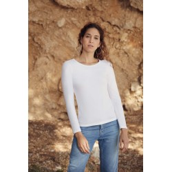 LADY FIT VALUEWEIGHT LSL (61-404-0)T-SHIRT FEMME MANCHES LONGUES