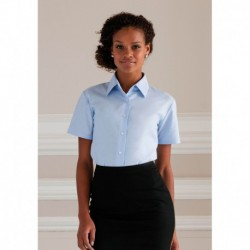 LADIES OXFORD SHIRT  CHEMISE OXFORD FEMME MANCHES COURTES