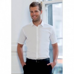 ULTIMATE STRETCH CHEMISE HOMME MANCHES COURTES