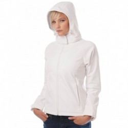 HOODED SOFTSHELL WOMEN  VESTE CAPUCHE SOFTSHELL FEMME