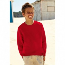 KIDS RAGLAN SWEAT (62-039-0) SWEAT-SHIRT ENFANT MANCHES RAGLAN