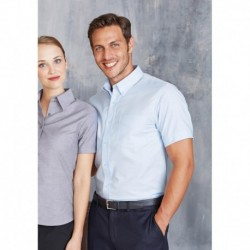 CHEMISE OXFORD MANCHES COURTES