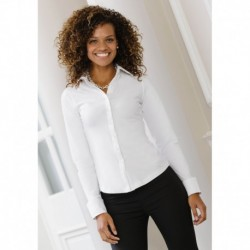 LONG SLEEVE STRETCH SHIRT CHEMISE STRETCH MANCHES LONGUES